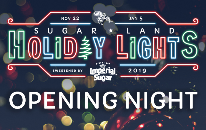 Sugar Land Holiday Lights - Opening Night