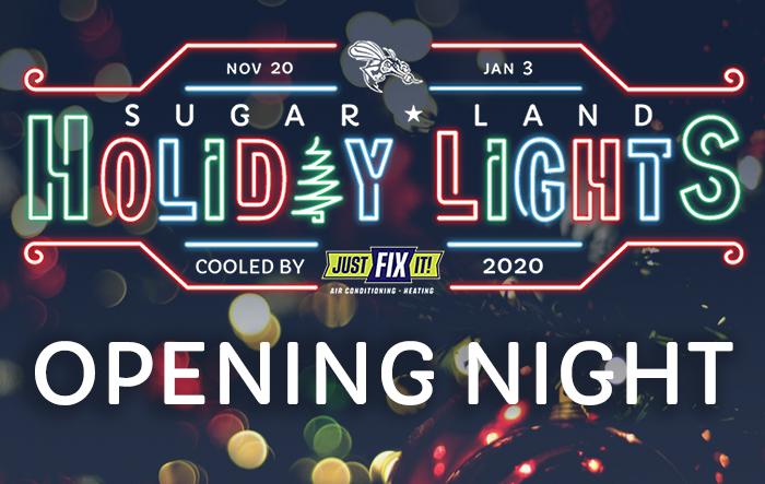 Sugar Land Holiday Lights: Opening Night