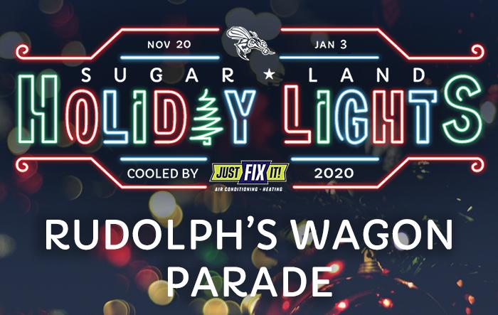 Sugar Land Holiday Lights: Rudolph's Wagon Parade