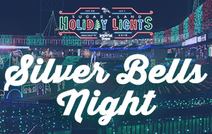 Sugar Land Holiday Lights - Silver Bells Night