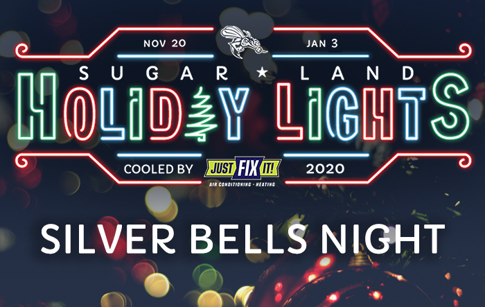 Sugar Land Holiday Lights: Silver Bells Night