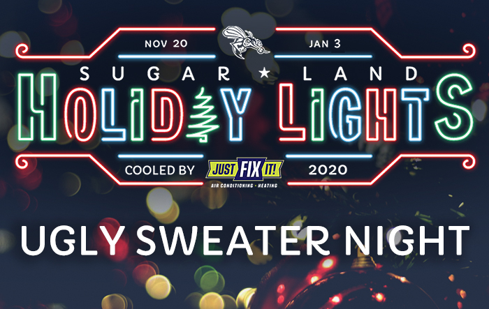 Sugar Land Holiday Lights: Ugly Sweater Night