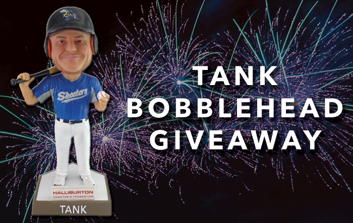 Friday Fireworks / Tank Bobblehead Giveaway