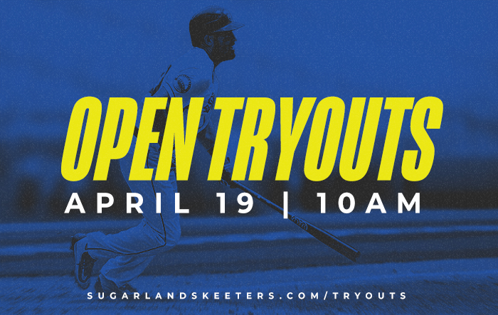 Skeeters Open Tryouts