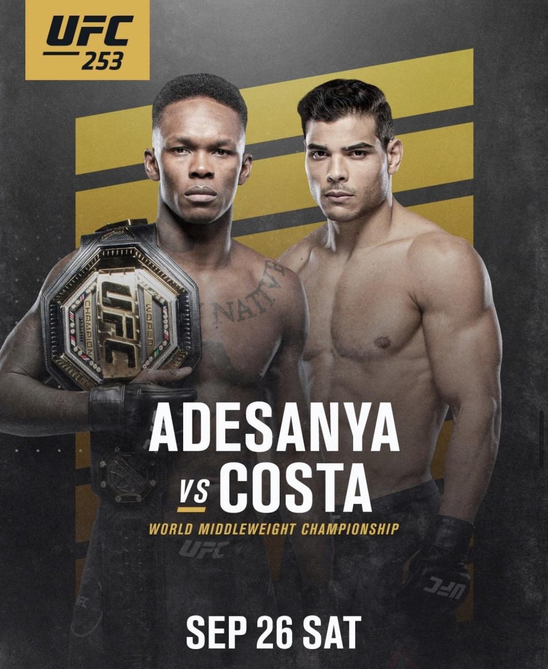Watch UFC 253 at Constellation Field
