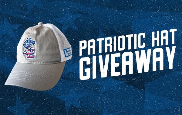 Patriotic Hat Giveaway