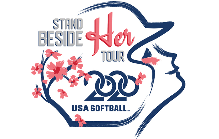 USA Softball Stand Beside Her Tour