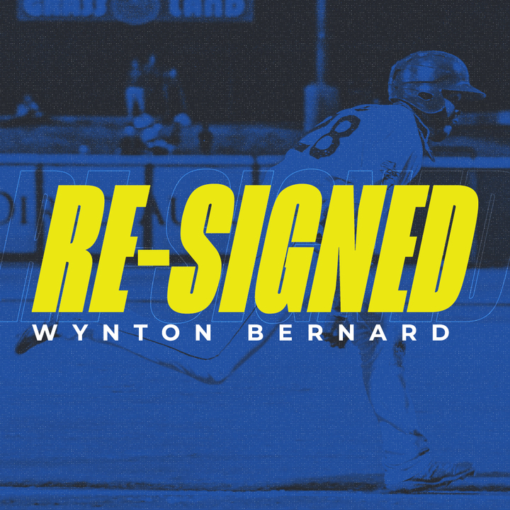 Skeeters Re-Sign OF Wynton Bernard