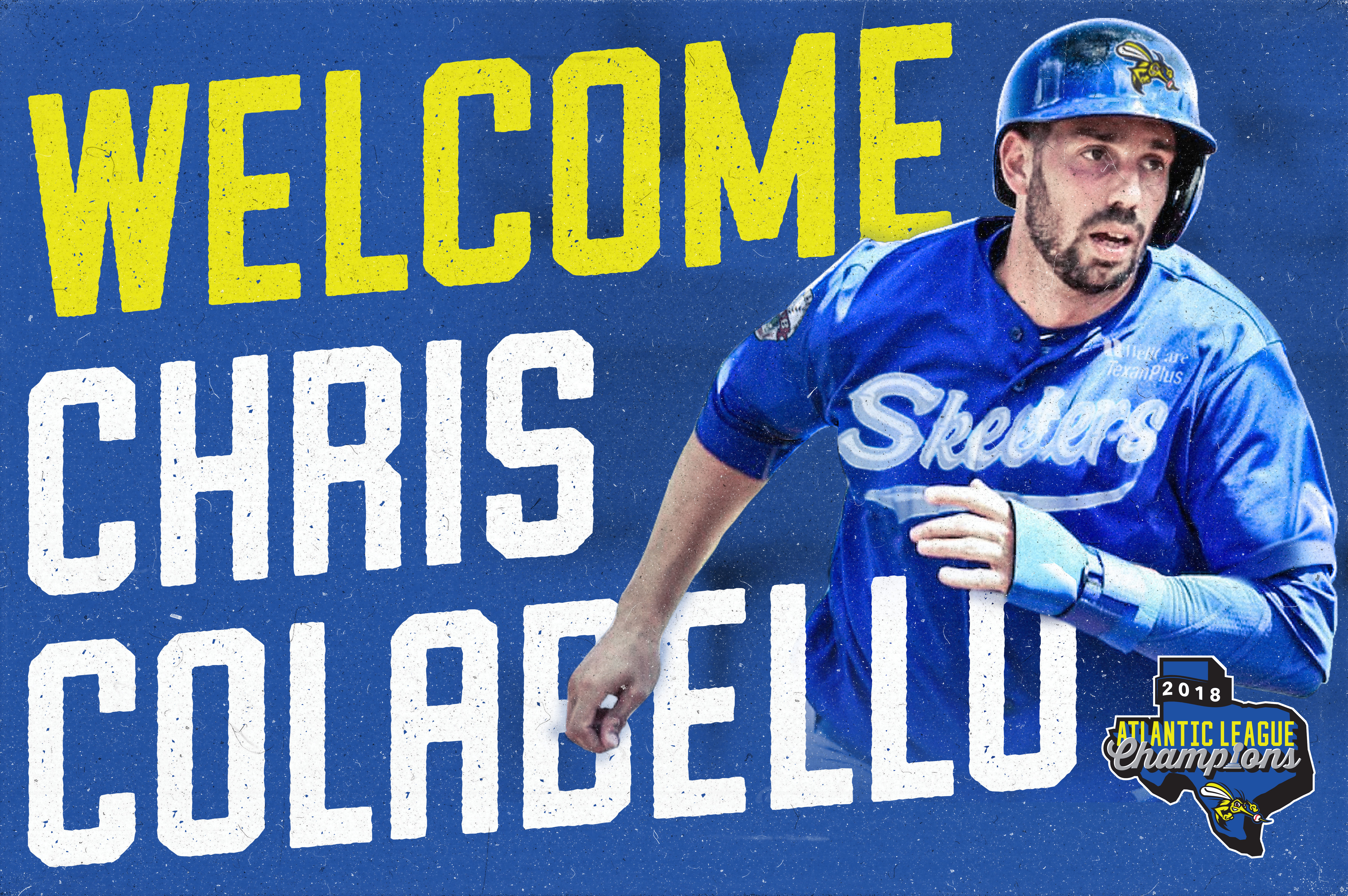 Skeeters Sign Former Major League IF/OF Chris Colabello