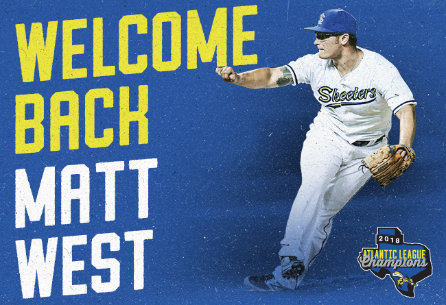 Skeeters Re-Sign Former Major League RHP Matt West