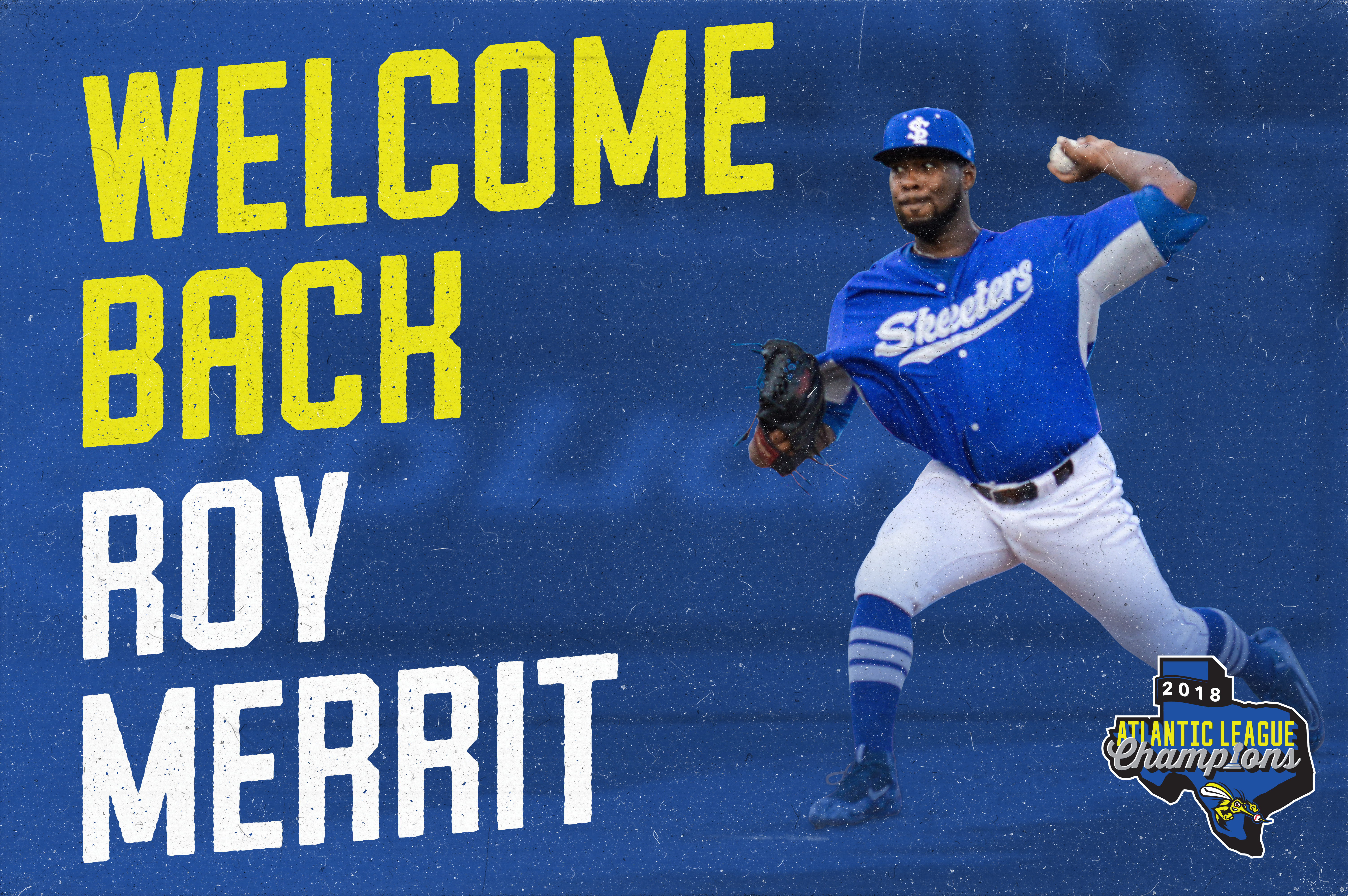Left-Hander Roy Merritt Re-Joins Skeeters as Player-Coach
