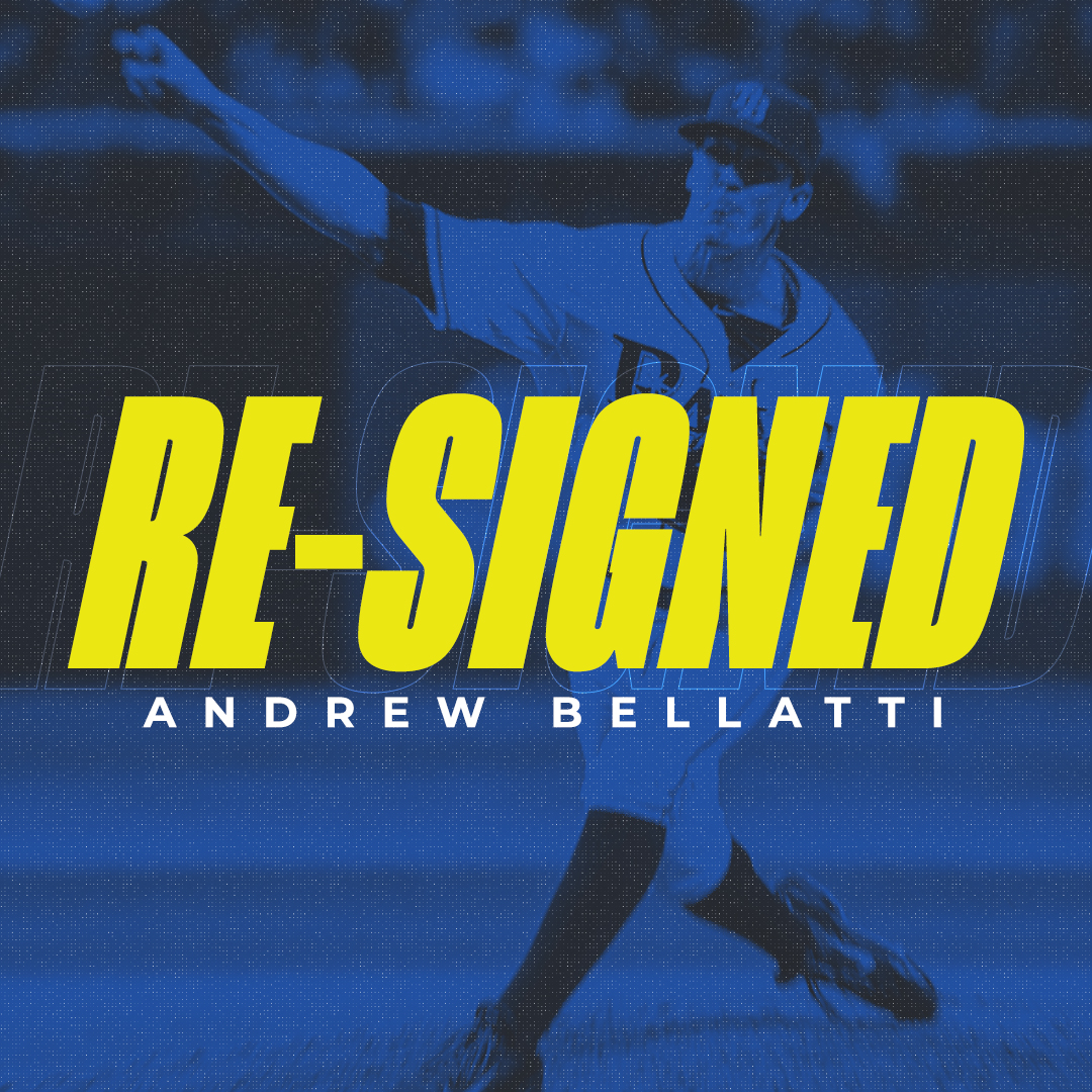 Skeeters Re-Sign Relievers Andrew Bellatti and Daniel Gibson