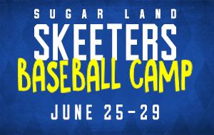 Skeeters Baseball Camp - June 25-29