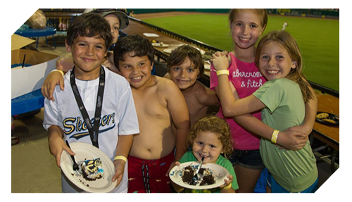 Celebrate Your Birthday | Sugar Land Skeeters