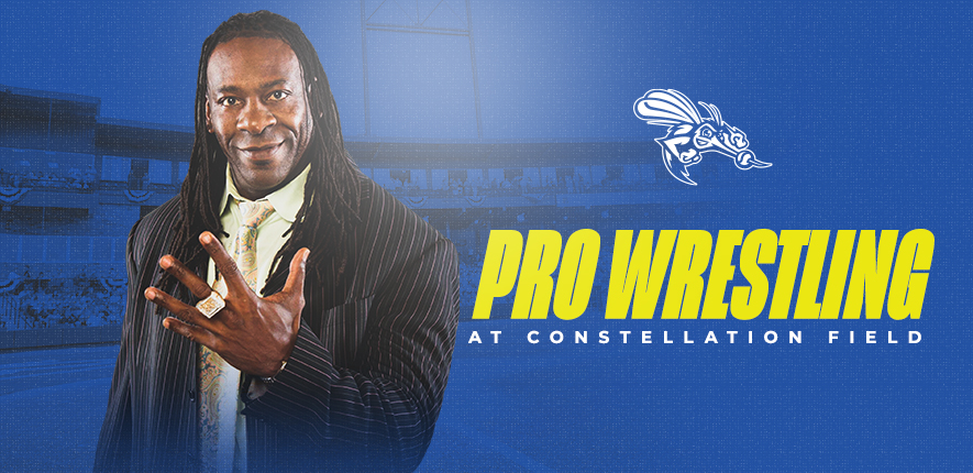 BOOKER T. TO BRING PRO WRESTLING TO CONSTELLATION FIELD