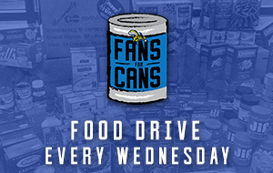Fans for Cans Food Drive