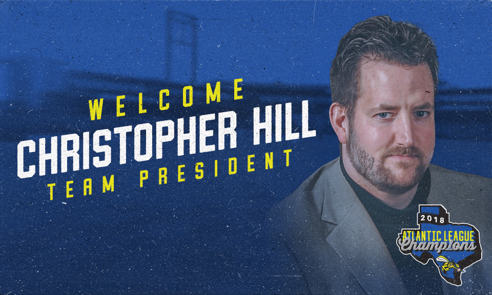 Skeeters Name Christoper Hill As Team President