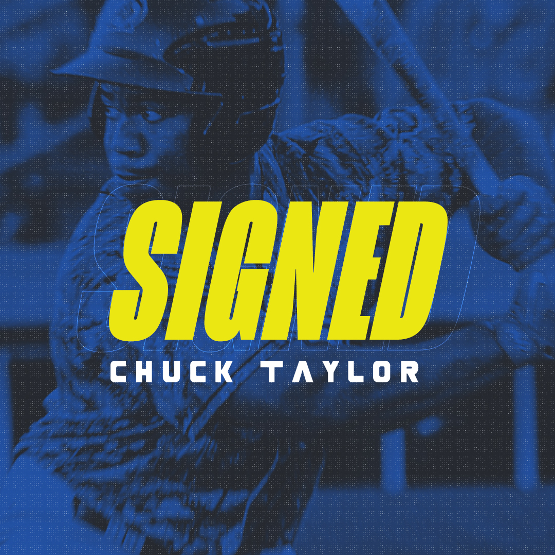 Skeeters Sign Switch-Hitting Outfielder Chuck Taylor
