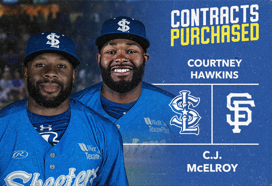 OF's Courtney Hawkins and C.J. McElroy and RHP Kevin McGowan have Contracts Purchased by MLB Clubs