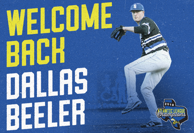 Skeeters Re-Sign Former Major League RHP Dallas Beeler