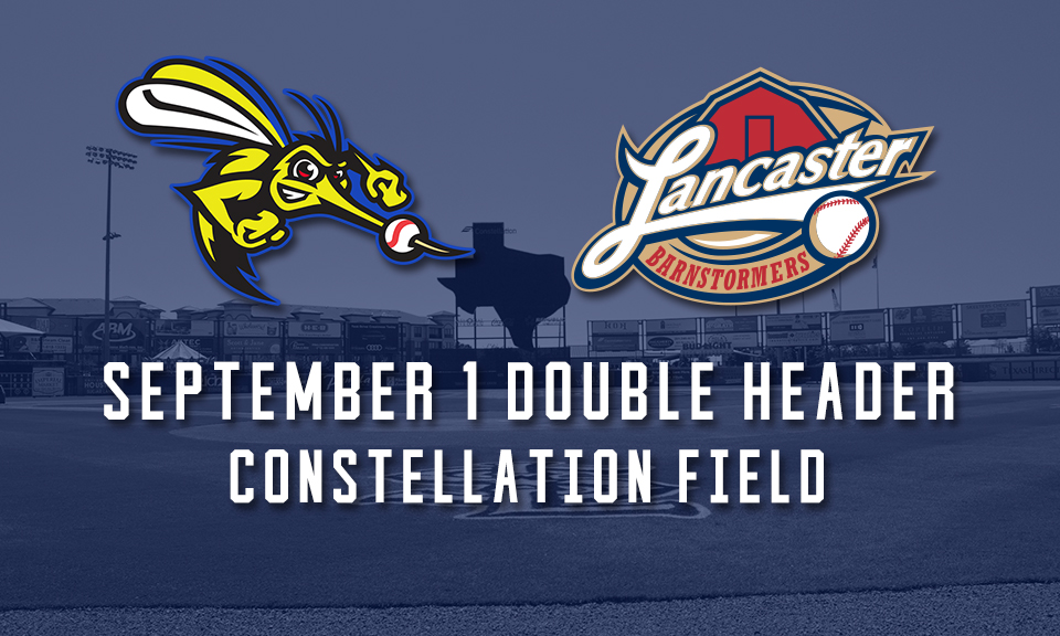 Skeeters to Host Doubleheader Against Lancaster on Sept. 1