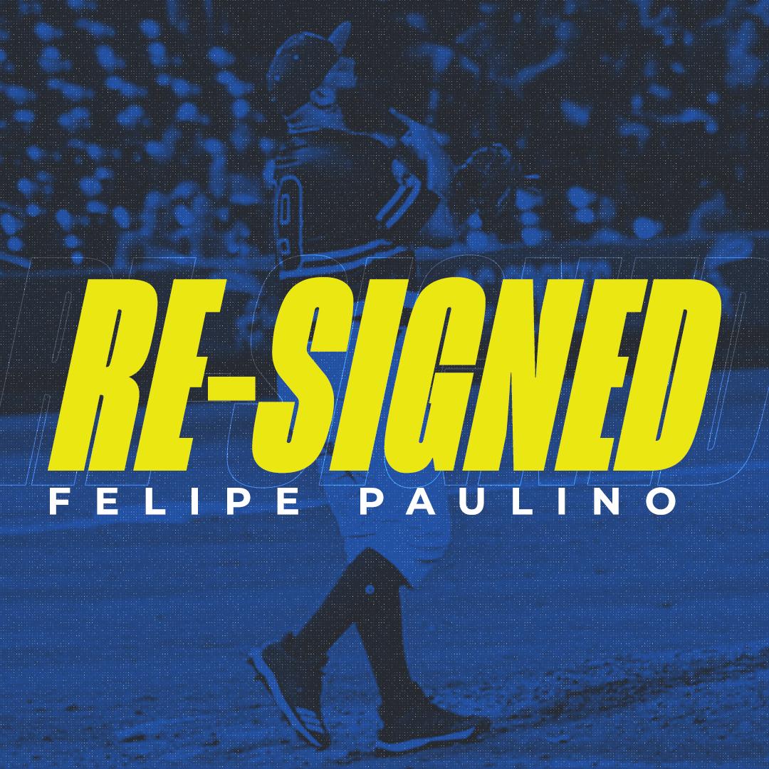 Skeeters Re-Sign Former Astros RHP Felipe Paulino