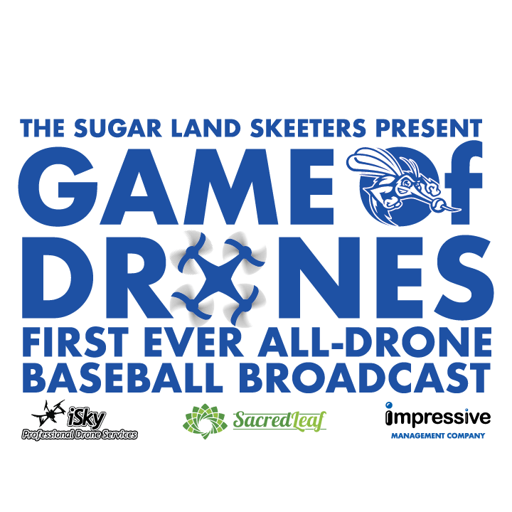 Skeeters to Have All-Drone Broadcast on Sept. 22