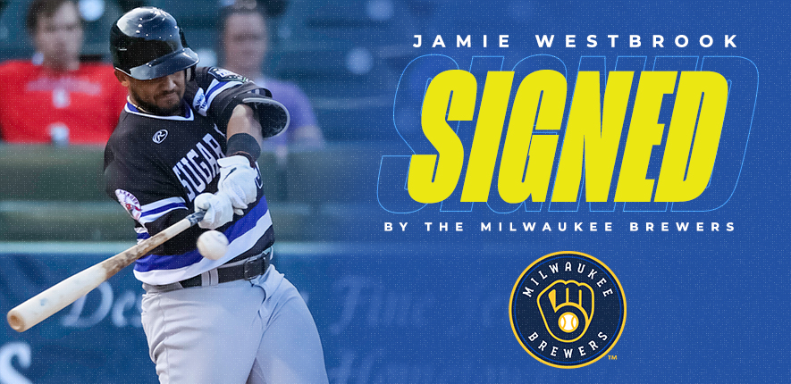 Former CEL All-Star Jamie Westbrook Signs With Milwaukee Brewers