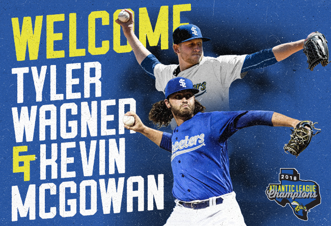 Skeeters Ink Former Big Leaguers Kevin McGowan and Tyler Wagner