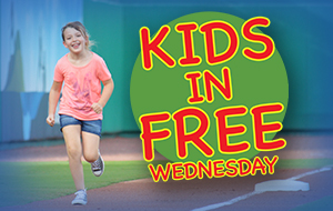 Kids in Free Wednesday