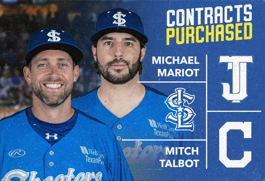 RHP's Mitch Talbot and Michael Mariot have Contracts Purchased