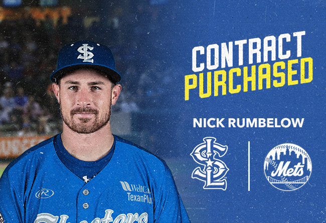New York Mets Purchase Contract of RHP Nick Rumbelow