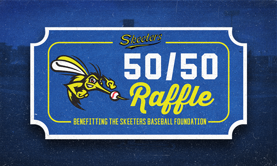 Skeeters Baseball Foundation Raises Over $140,000 in Inaugural 50/50 Raffle Season