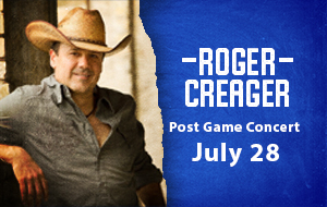 Roger Creager Post Game Concert