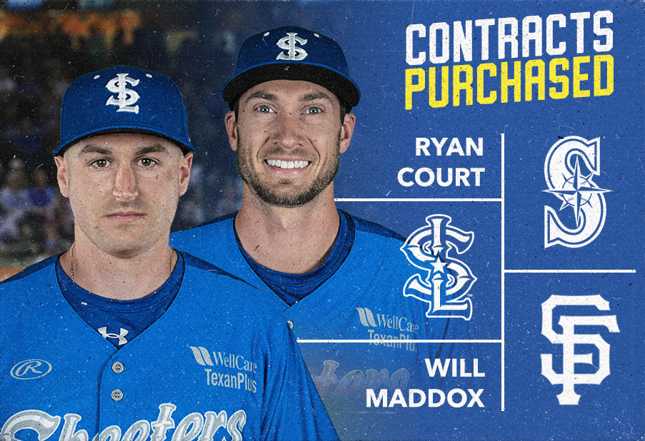 Infielders Ryan Court and Will Maddox Have Contracts Purchased