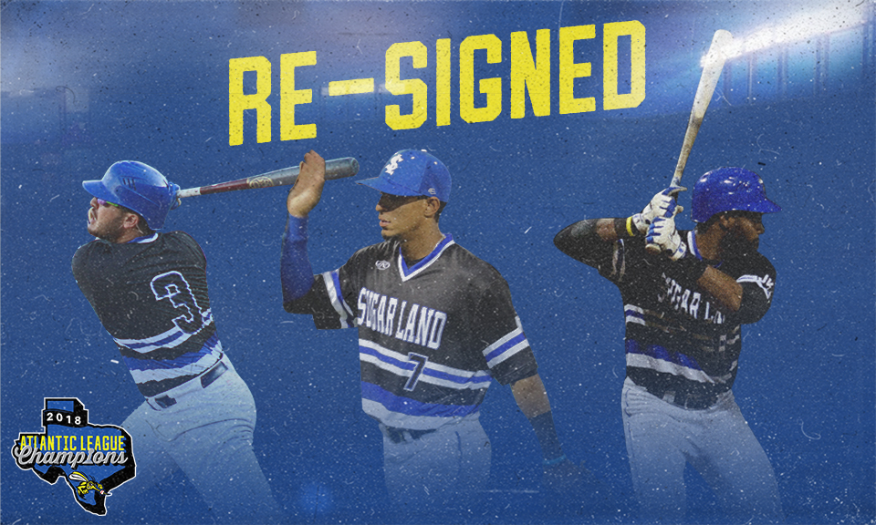 Skeeters Announce First 3 Signings for 2019 Season