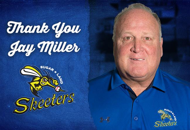 Skeeters President Jay Miller Announces Resignation