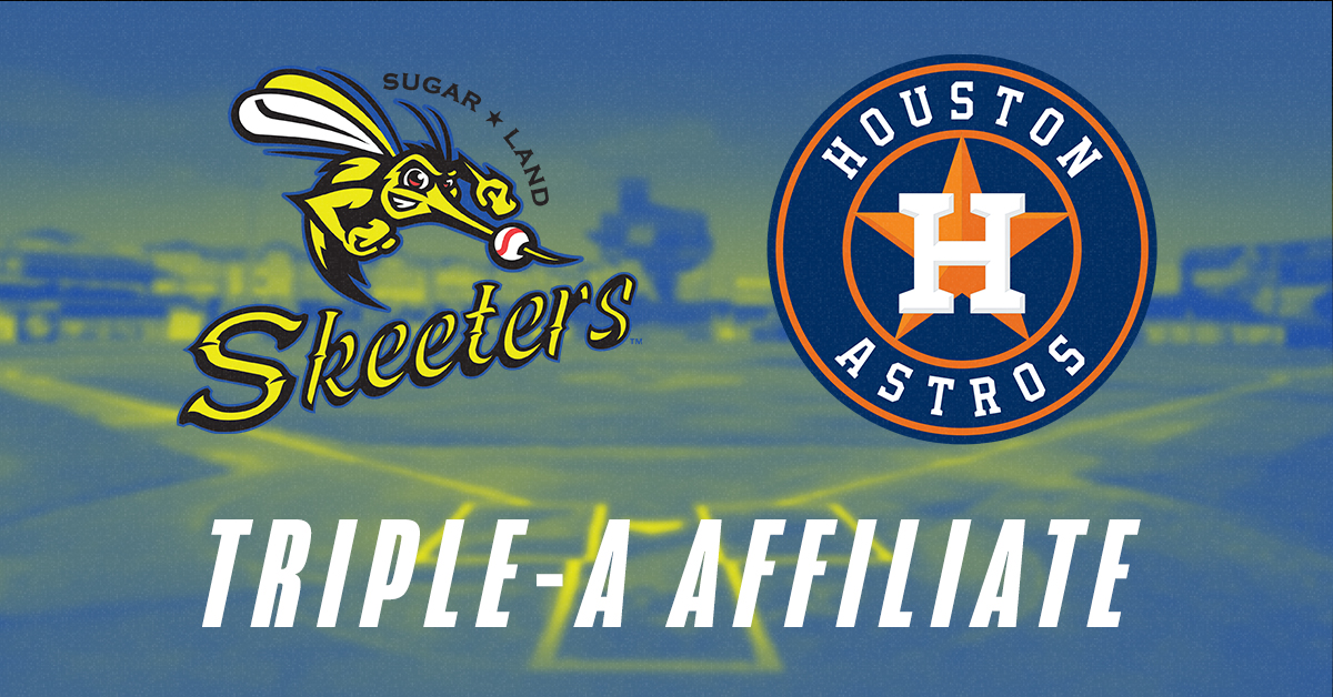Skeeters Named Houston Astros Triple-A Franchise