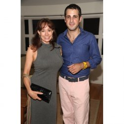 DOMINICK FARINACCI AND TAJA SOUTH HAMPTON 2012