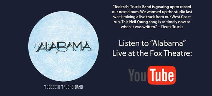 Listen To Alabama Live at the Fox Theater