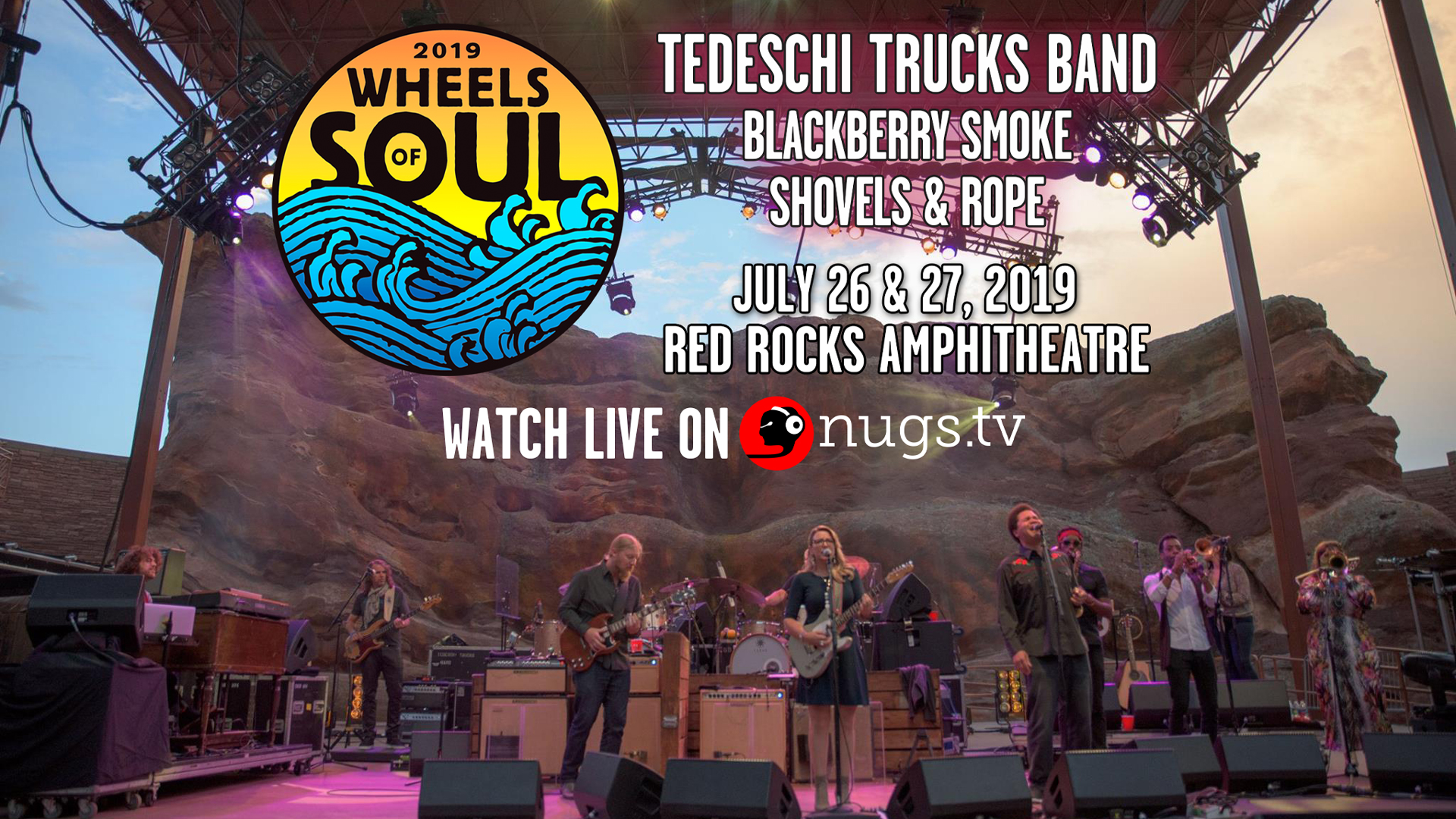 Wheels of Soul Webcast - Live From Red Rocks