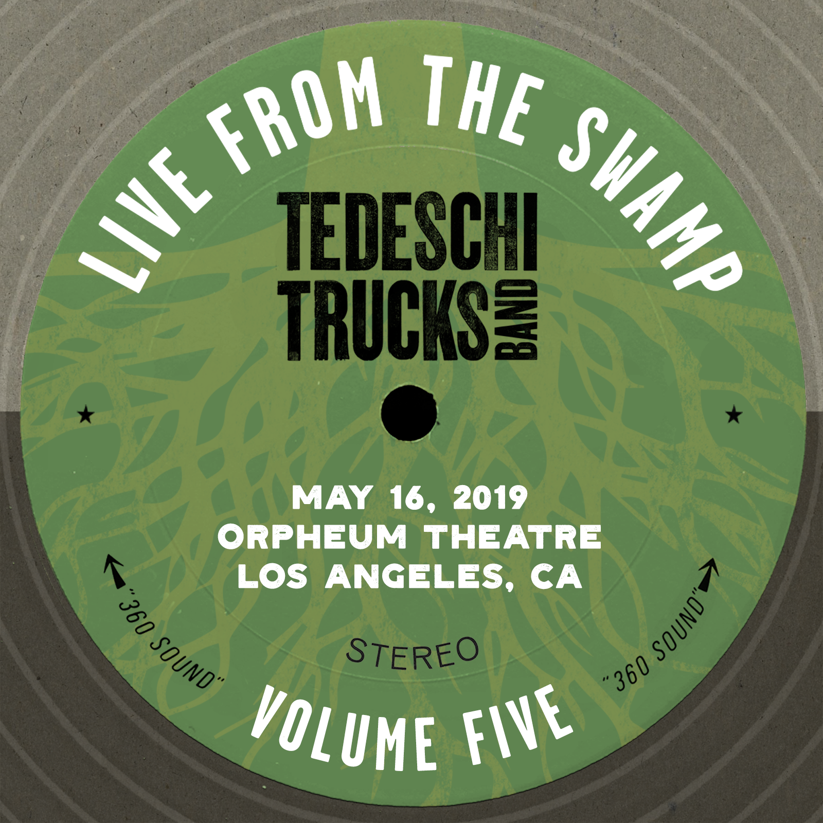 Live From The Swamp, Vol. 5: Orpheum Theatre, Los Angeles, CA, May 16, 2019
