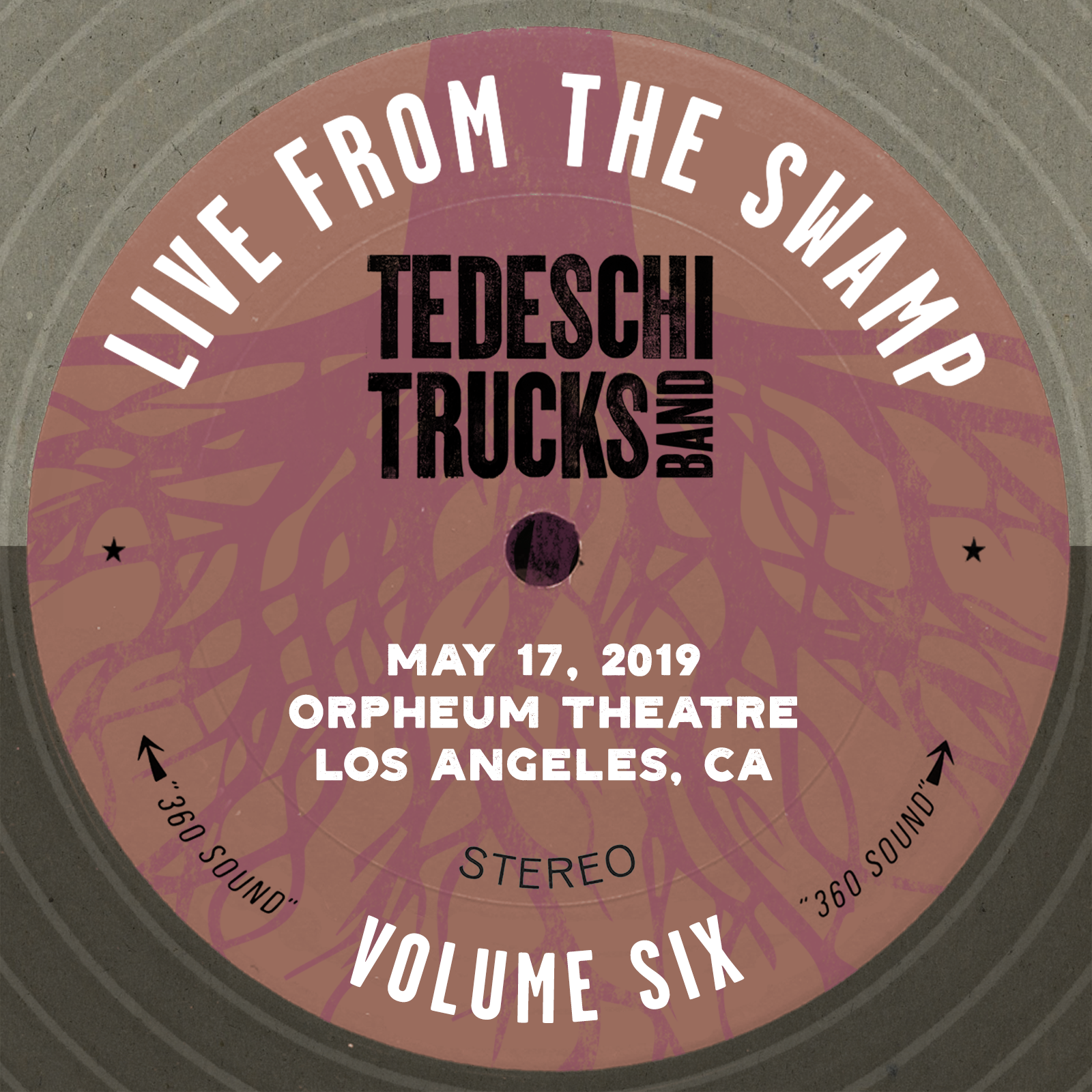 Live From The Swamp, Vol. 6: Orpheum Theatre, Los Angeles, CA, May 17, 2019