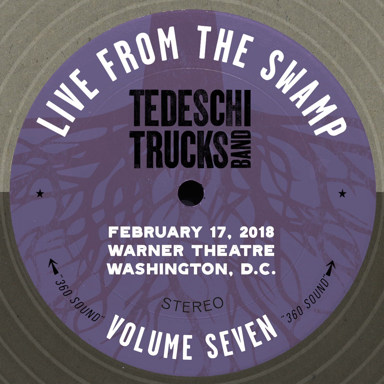Live From The Swamp, Vol. 7: Warner Theatre, Washington, D.C., February 17, 2018
