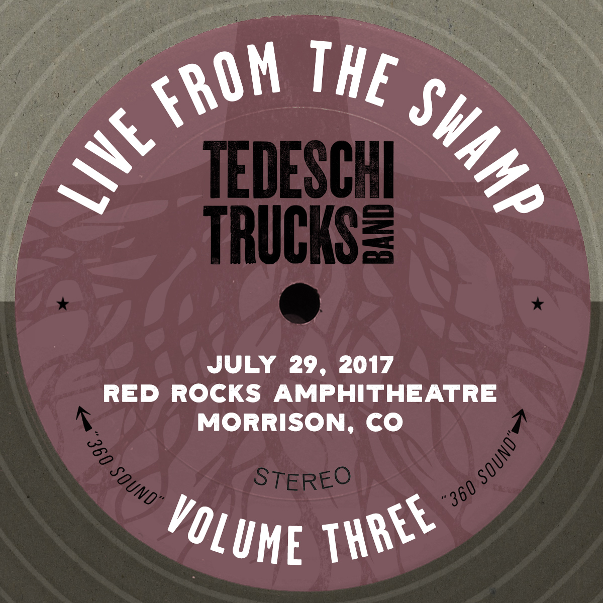 Live From The Swamp, Vol. 3: Red Rocks Amphitheatre, July 29, 2017