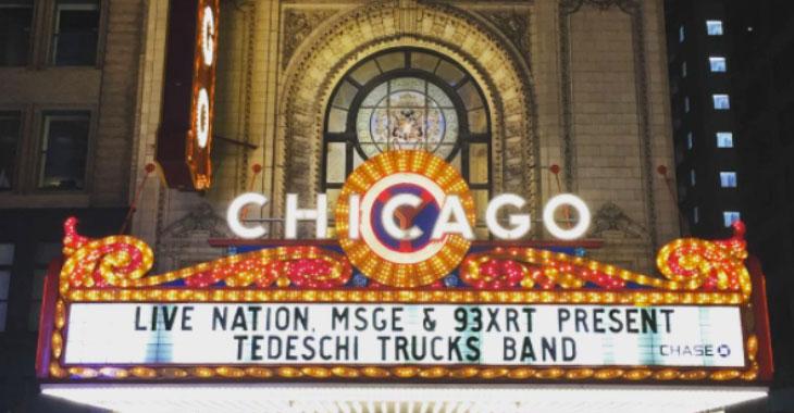 Three Nights at the Chicago Theatre