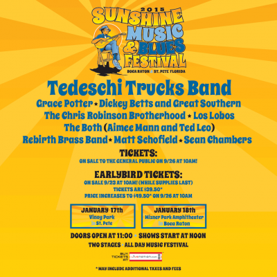 Sunshine Blues Festival Returns