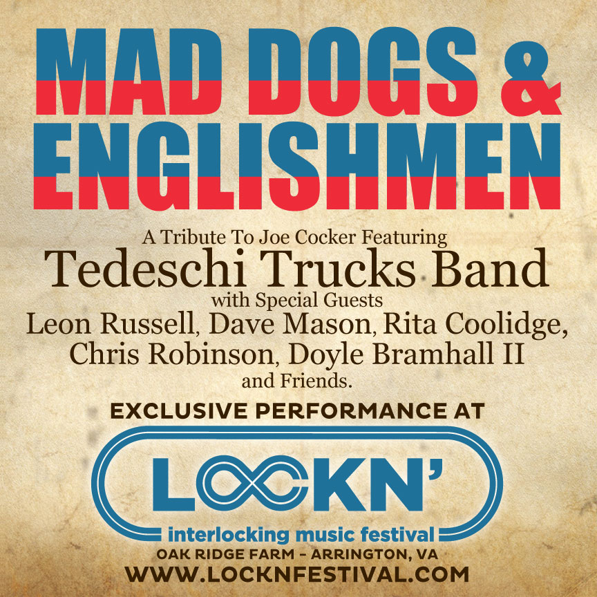 Mad Dogs & Englishmen Tribute at Lockn'