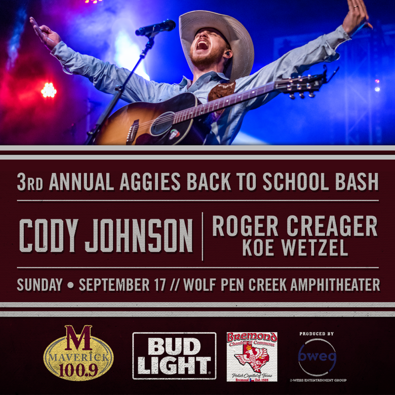 3rd Aggies Back-to-School Bash Rescheduled