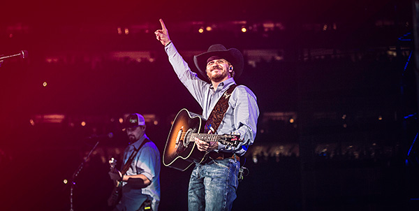 CODY JOHNSON MAKES TRIUMPHANT DEBUT  AT RODEOHOUSTON